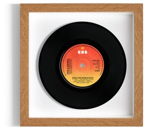 "Simon & Garfunkel ""Bridge Over Troubled Water"" Framed 7"" Vinyl Record"