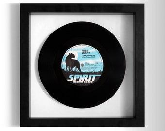 """Russ Abbot """"Atmosphere"""" Framed 7"""" Vinyl Record"""