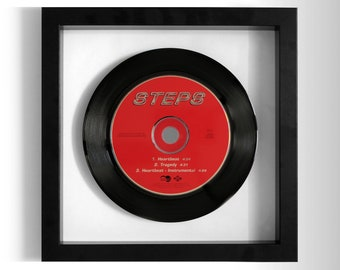 "Steps ""Heartbeat / Tragedy"" Framed CD"