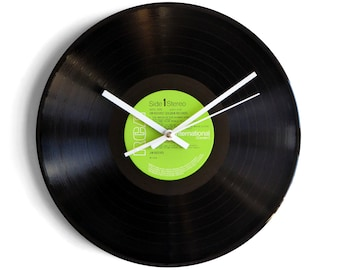 "Jim Reeves ""Golden Records"" Vinyl Record Wall Clock"