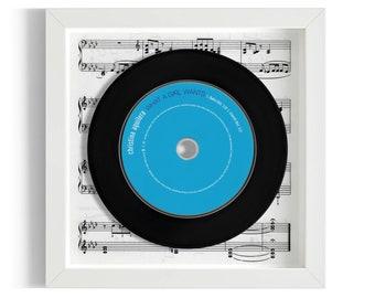 "Christina Aguilera ""What A Girl Wants"" Framed CD"