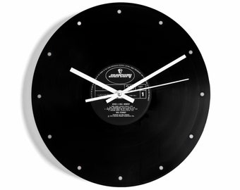 "Wham ""I'm Your Man"" Vinyl Record Wall Clock"
