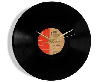 "Cliff Richard ""I'm Nearly Famous"" Vinyl Record Wall Clock"
