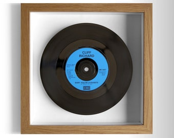 "Cliff Richard ""Baby You're Dynamite"" Framed 7"" Vinyl Record"
