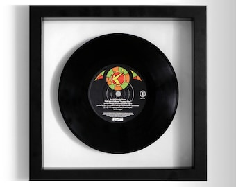 "Frankie Goes To Hollywood ""The Power Of Love"" Framed 7"" Vinyl Record"