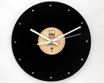 "Soul II Soul ""Keep on Movin"" Vinyl Record Wall Clock"