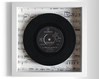 "The Seekers ""I'll Never Find Another You"" Framed 7"" Vinyl Record"