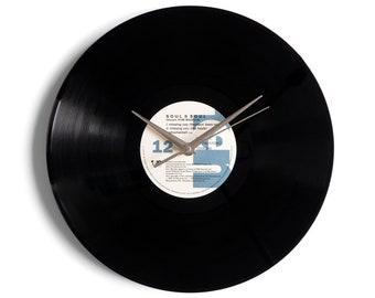 "Soul II Soul ""Missing You"" Vinyl Record Wall Clock"