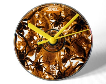 "Space ""Spiders"" CD Clock and Keyring Gift Set"