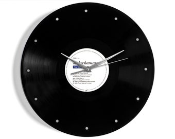 "Peter Gabriel ""Sledgehammer"" Vinyl Record Wall Clock"