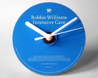 "Robbie Williams ""Intensive Care"" CD Clock and Keyring Gift Set"