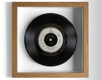 """Status Quo """"Break The Rules"""" Framed 7"""" Vinyl Record"""