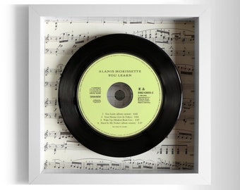 "Alanis Morissette ""You Learn"" Framed CD"