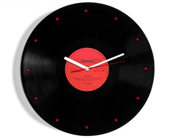 "The Troggs ""Wild Thing"" Vinyl Record Wall Clock"