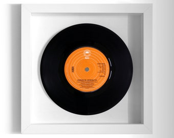 "ABBA ""Knowing Me, Knowing You"" Framed 7"" Vinyl Record"