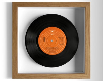 """ABBA """"The Name Of The Game"""" Framed 7"""" Vinyl Record"""