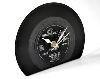 "Joe Loss ""Latino Cha Cha"" Vinyl Record Desk Clock"