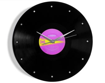 "DeBarge ""Rhythm Of The Night"" Vinyl Record Wall Clock"