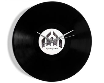 """Mystery Jets """"You Can't Call Me Dennis"""" Vinyl Record Wall Clock"""