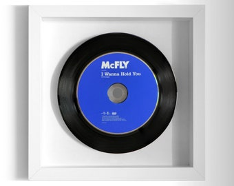 "McFly ""I Wanna Hold You"" Framed CD"