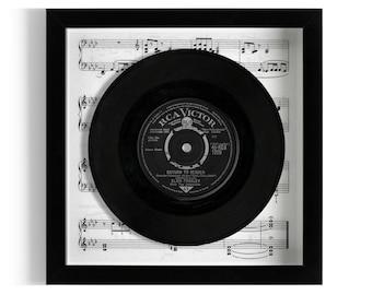 "Elvis Presley ""Return To Sender"" Framed 7"" Vinyl Record"