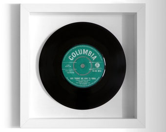 """Frank Ifield """"She Taught Me How To Yodel"""" Framed 7"""" Vinyl Record"""