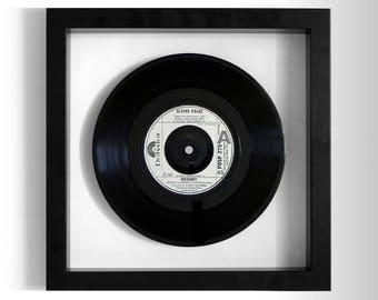 "Elaine Paige ""Memory"" Framed 7"" Vinyl Record"
