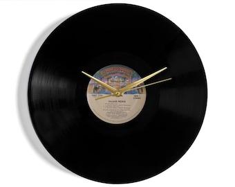 "Village People ""Macho Man"" Vinyl Record Wall Clock"
