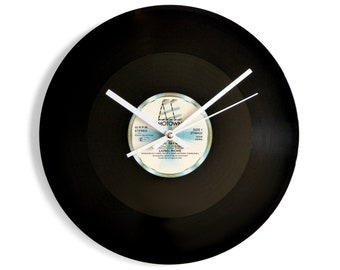 "Lionel Richie ""Say You, Say Me"" Vinyl Record Wall Clock"