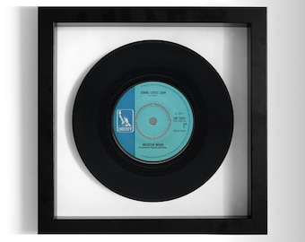 "Brenton Wood ""Gimme Little Sign"" Framed 7"" Vinyl Record"