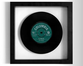 """Cliff Richard """"The Young Ones"""" Framed 7"""" Vinyl Record"""