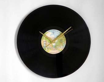 """The Four Seasons """"Helicon"""" Vinyl Record Wall Clock"""