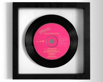 "Mariah Carey ""Heartbreaker"" Framed CD"