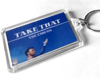 Take That Keyring from CD Booklet