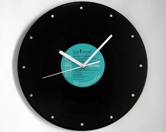"Elvis Presley ""Hits From His Movies"" Vinyl Record Wall Clock"