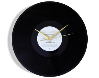 "Erasure ""Crackers International"" Vinyl Record Wall Clock"