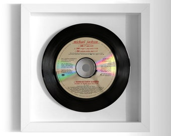 "Michael Jackson ""Jam"" Framed CD"