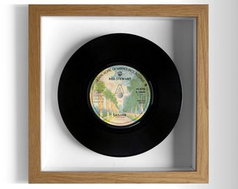 "Rod Stewart ""Sailing"" Framed 7"" Vinyl Record"