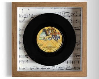 "Rod Stewart ""Dirty Weekend"" Framed 7"" Vinyl Record"