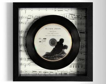 """Elton John """"Believe"""" Framed CD"""