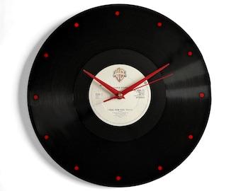 "Chaka Khan ""I Feel For You"" Vinyl Record Wall Clock"