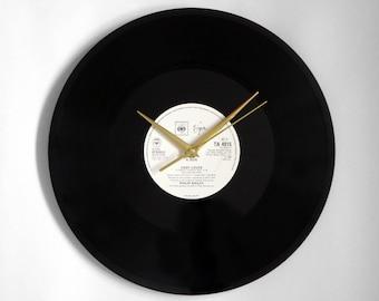 """Philip Bailey & Phil Collins """"Easy Lover"""" Vinyl Record Wall Clock"""