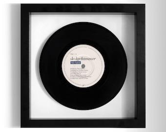 "Peter Gabriel ""Sledgehammer"" Framed 7"" Vinyl Record"