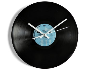 "Onyx ""Slam"" Vinyl Record Wall Clock"