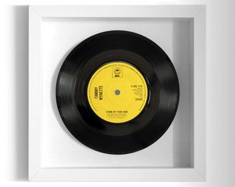 "Tammy Wynette ""Stand By Your Man"" Framed 7"" Vinyl Record"