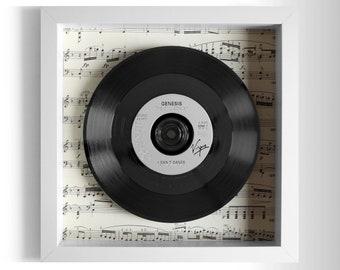 "Genesis ""I Can't Dance"" Framed 7"" Vinyl Record"