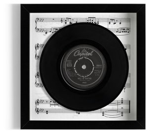 "Wings ""Mull Of Kintyre"" Framed 7"" Vinyl Record"