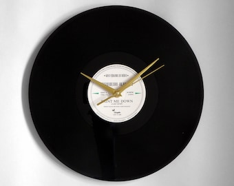 "Spandau Ballet ""Paint Me Down"" Vinyl Record Wall Clock"