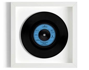 """10cc """"Deadlock Holiday"""" Framed 7"""" Vinyl Record"""