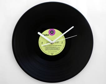 "Frank Sinatra ""Sunday and Everyday"" Vinyl Record Wall Clock"